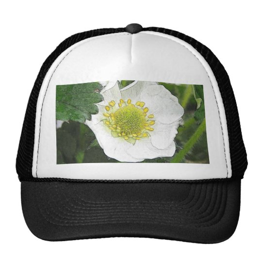 Strawberry Blossom Trucker Hat