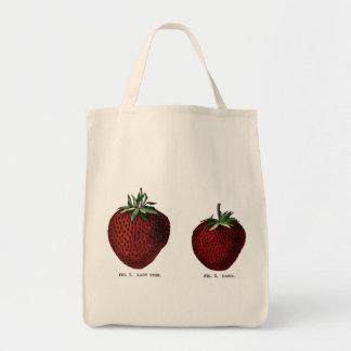 Strawberry Botanicals Tote Bag