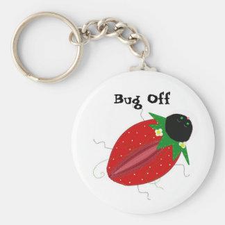 Strawberry Bug - Bug Off Keychain