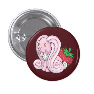 Strawberry Bunny Badges