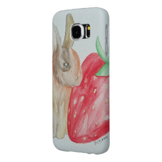 Strawberry Bunny Samsung Galaxy S6 Cases