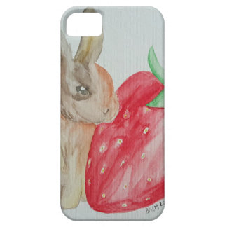 Strawberry Bunny iPhone SE/5/5s Case
