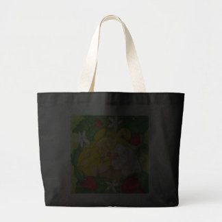 Strawberry Bunny Tea / Jumbo Totebag Jumbo Tote Bag