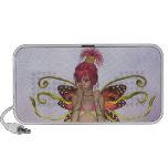 Strawberry Butterfly Fairy Doodle Speaker