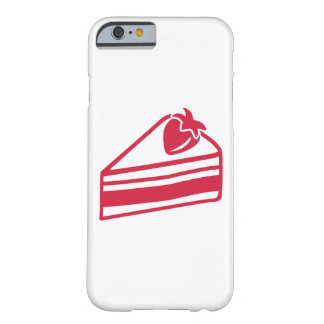 Strawberry cake barely there iPhone 6 case