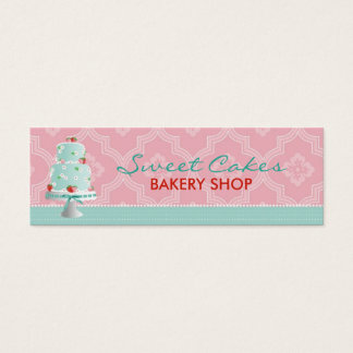 Strawberry Cake Business Card