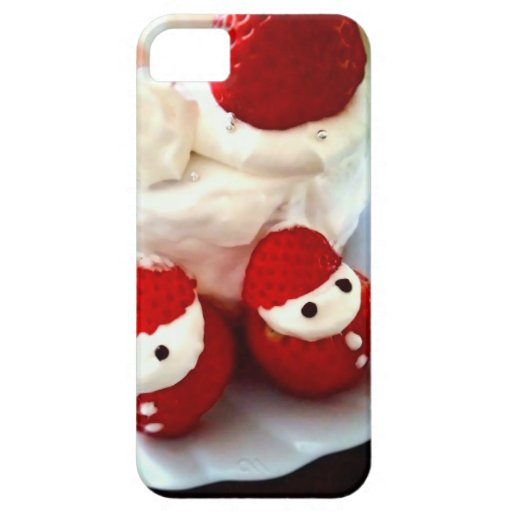 Strawberry cake iPhone 5 cover