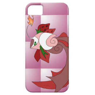 Strawberry Cake Fish iPhone 5/5s Cover Pink Quilt