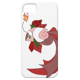 Strawberry Cake Fish iPhone 5/5s Cover White