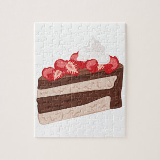 Strawberry Cake Jigsaw Puzzle