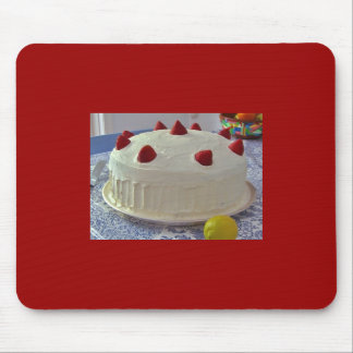 Strawberry Cake Mousepad