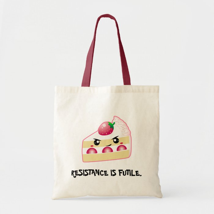 Strawberry Cake: Resistance (customizable!) Tote Bag