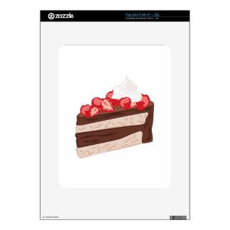 Strawberry Cake Skins For iPad