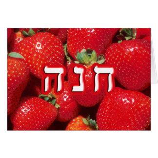 Strawberry Chana (Anne or Hannah) Card