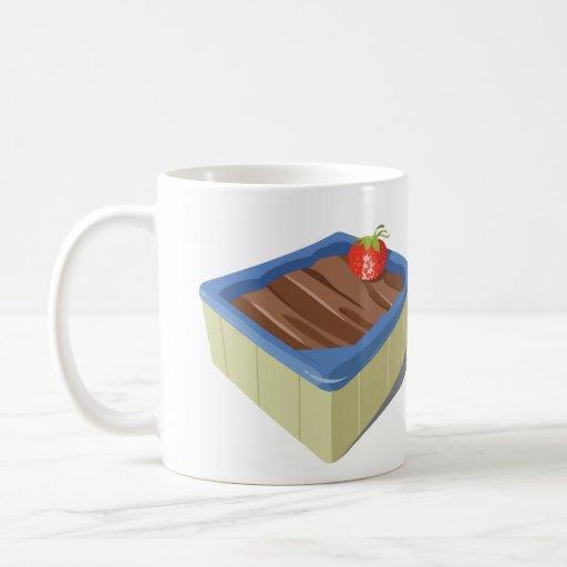 Coffee Maker Hot Tub : Strawberry Chcolate Hot Tub Mug Zazzle
