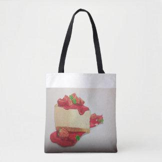 Strawberry cheesecake tote