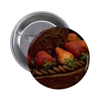 Strawberry Chocolate Cake Pin