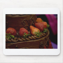 Strawberry Chocolate Cake Mouse Pad