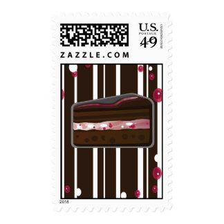Strawberry Chocolate Cake Poster Stamp