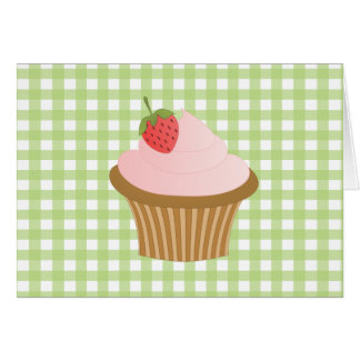 Strawberry Chocolate Cupcake Cards