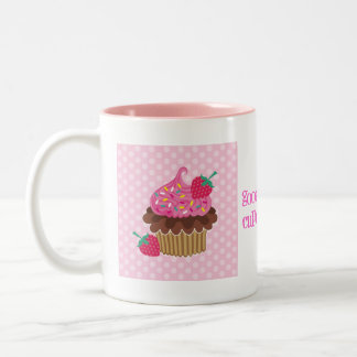 Strawberry & Chocolate Cupcake Mug