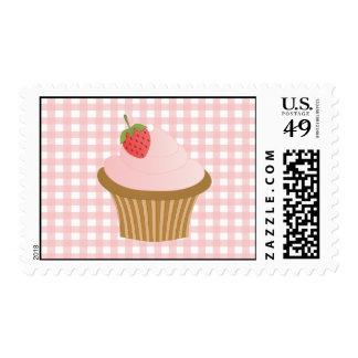 Strawberry Chocolate Cupcake Postage