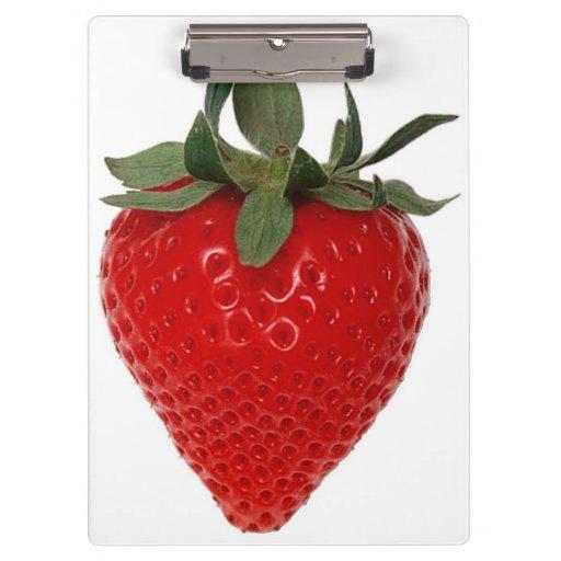 Strawberry Clipboard