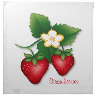 Strawberry Cloth Napkin