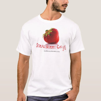 STRAWBERRY COUGH™ White T-Shirts