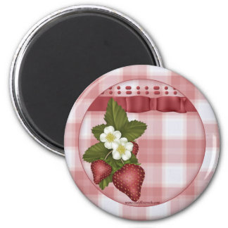 Strawberry Country Magnet