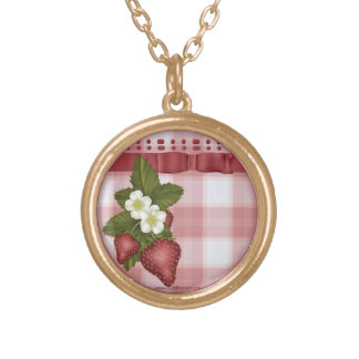Strawberry Country Necklace