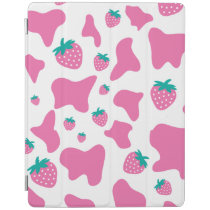 Strawberry Cow iPad Smart Cover
