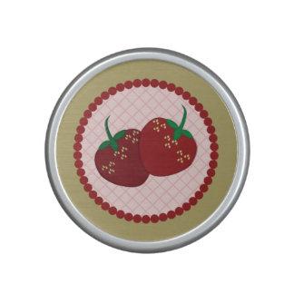 Strawberry Cream Pie Art Speaker