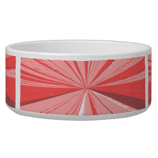 Strawberry Cream Vanishing Point Bowl