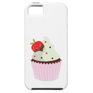 Strawberry Cupcake iPhone 5 Covers