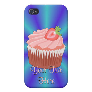 Strawberry Cupcake iPhone 4 Case