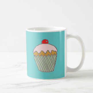 Strawberry Cupcake Classic White Coffee Mug