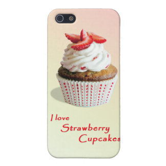 Strawberry Cupcakes - iPhone 5 Case