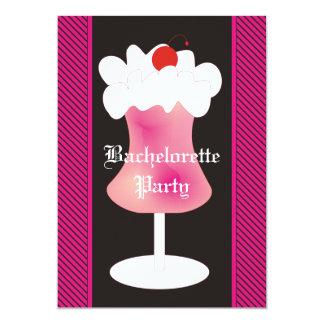 Strawberry Daiquiri Bachelorette Party Card