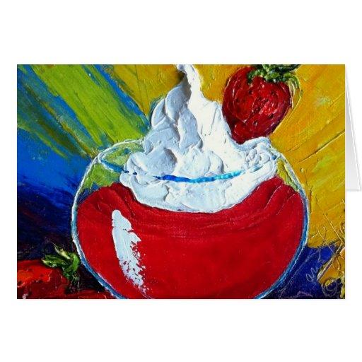 Strawberry Daiquiri Cards