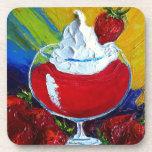 Strawberry Daiquiri Coasters