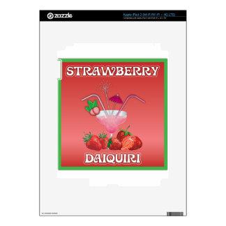 Strawberry Daiquiri iPad 3 Decals