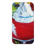 Strawberry Daiquiri iPhone 4 Case