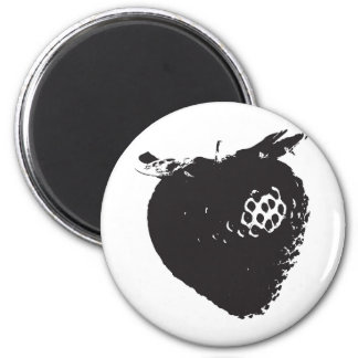 Strawberry Delight 2 Inch Round Magnet