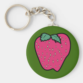 Strawberry Design Keychain