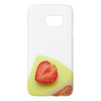 strawberry dessert samsung galaxy s7 case
