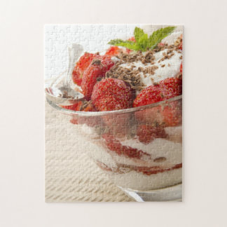 Strawberry Dessert With Fresh Yogurt Jigsaw Puzzle