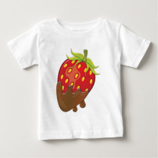 Strawberry dipped in chocolate baby T-Shirt