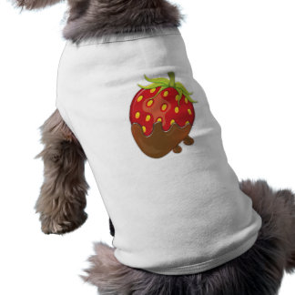 Strawberry dipped in chocolate shirt
