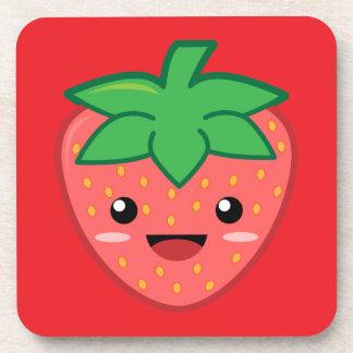 Strawberry Drink Coaster